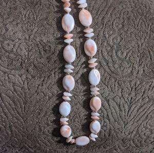 Jewelry - VTG 80s Chunky Faux Gemstone Necklace